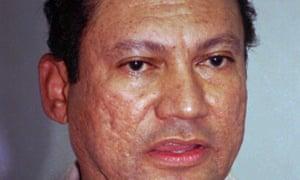 Manuel Noriega in an undated photograph.