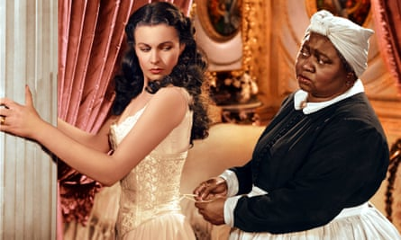 Vivien Leigh and Hattie McDaniel in Gone with the Wind.