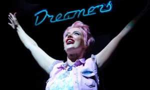 Sally Carman in Dreamers at Oldham's  Coliseum theatre