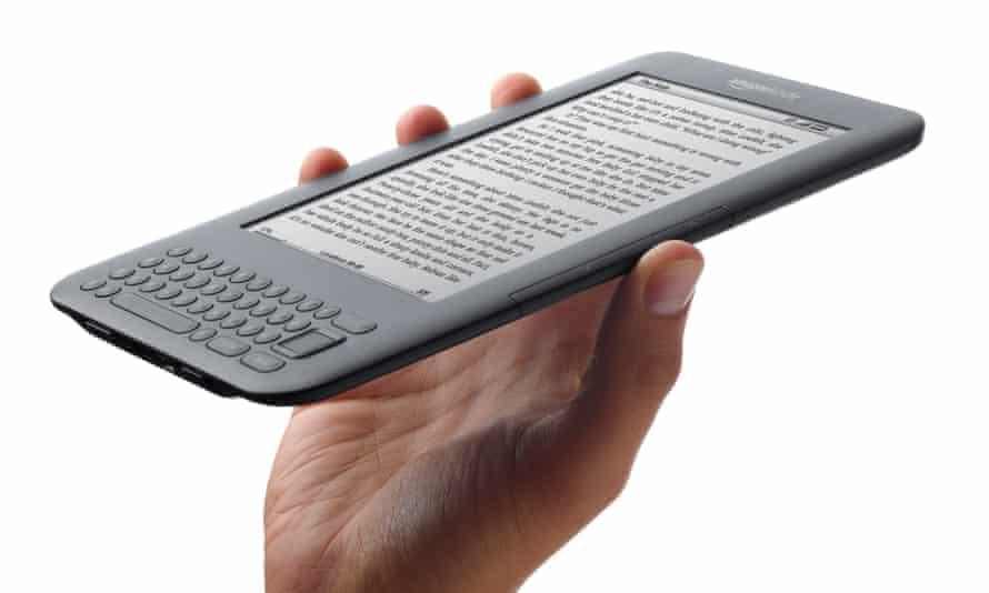 the Amazon Kindle ebook reader .