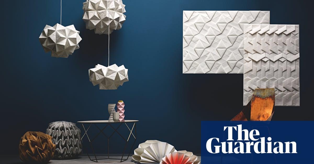 Nintai: Origami-Inspired Geometric Dresses | strictlypaper | 630x1200