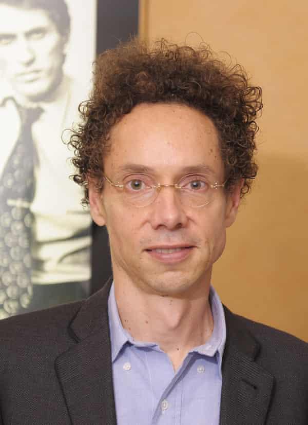 A 'big ideas' man … Malcolm Gladwell.