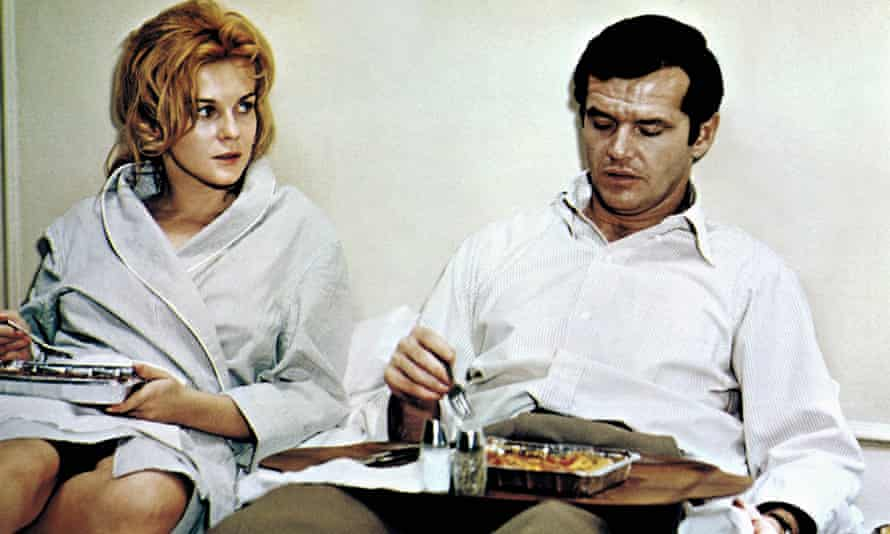 Ann-Margret and Jack Nicholson in Carnal Knowledge
