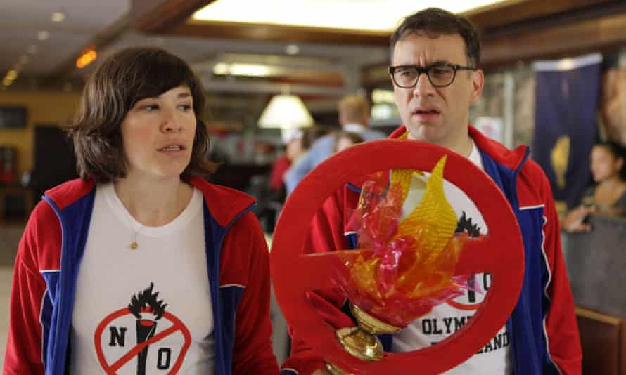 Carrie Brownstein and Fred Armisen in Portlandia