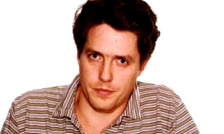 The Los Angeles police department booking photograph of actor Hugh Grant, 27 June 1995.