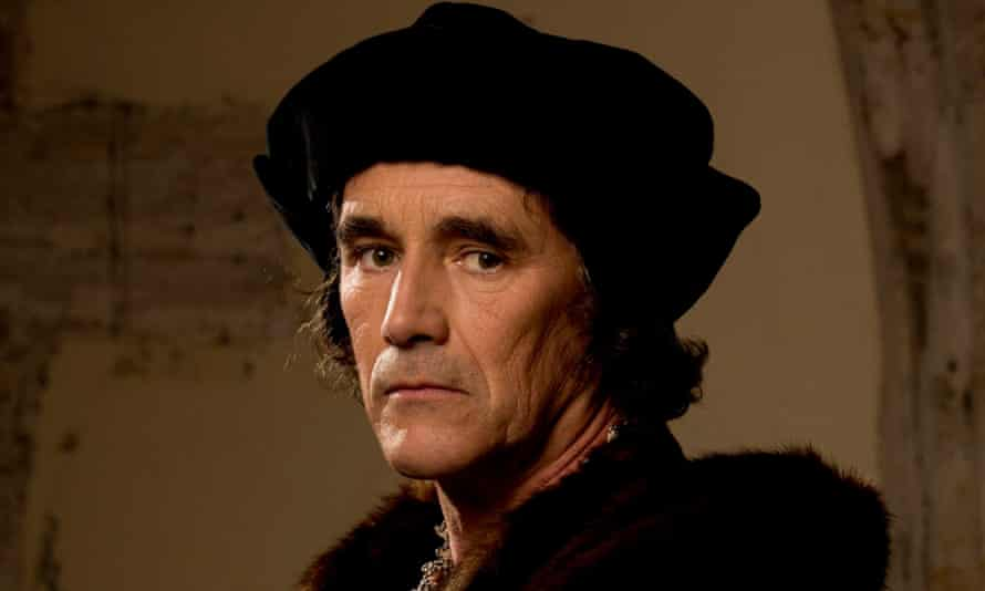 Intellect, wit and underdog status in the court of King Henry … Mark Rylance as Thomas Cromwell in Wolf Hall. Photograph: Giles Keyte/BBC