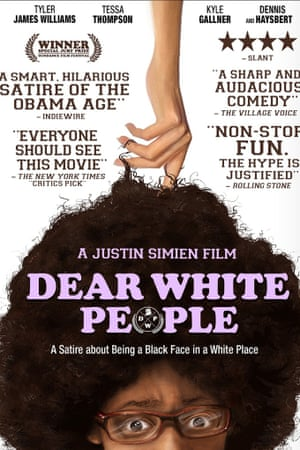 Dear White People movie poster.