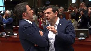 Alexis Tsipras and Mattei Renzi