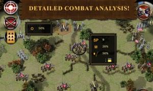 A screenshot of Civil War: 1862