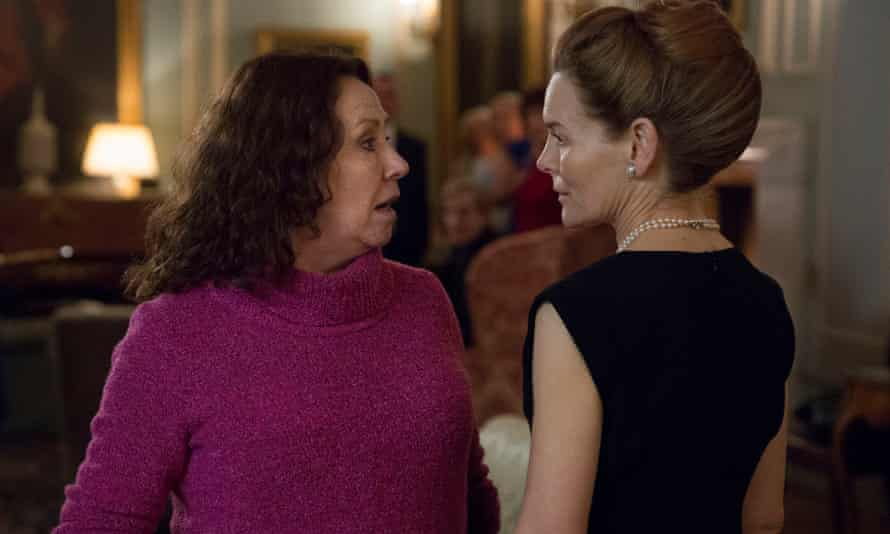 Melanie Hill and Alice Krige in the new Kay Mellor drama, The Syndicate.