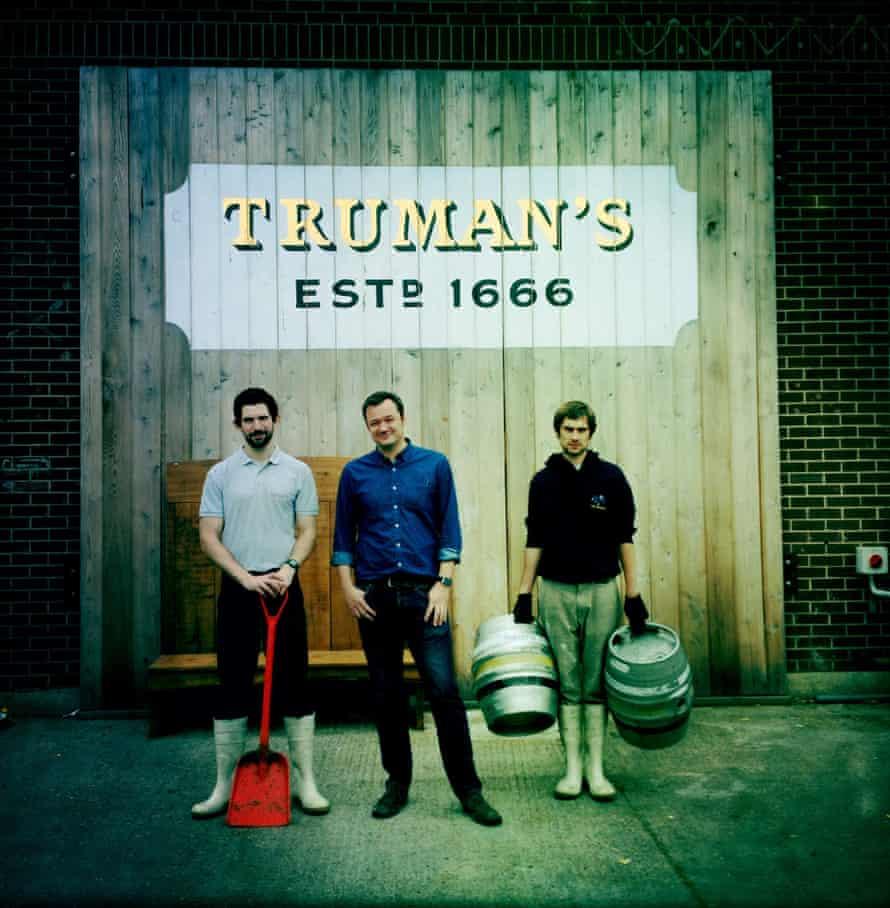 Truman's beer staff