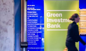 Green Investment Bank's Annual Review in London