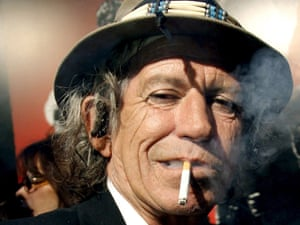Keith Richards in 2008.