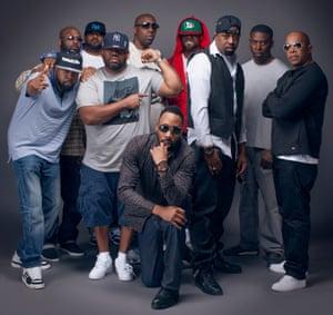Wu-Tang Clan in 2014.