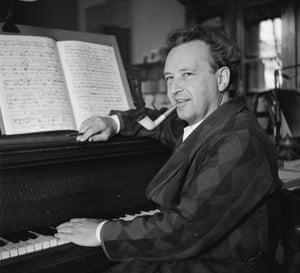 Arthur Honegger in 1949.