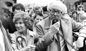 Michael Foot in 1983