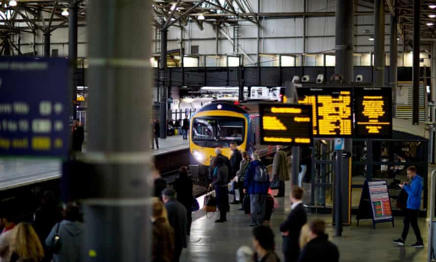 The Transpennine Express service between Manchester and Leeds.