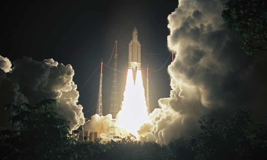OneWeb has commissioned France's Arianespace to build 65 rockets to carry the satellites