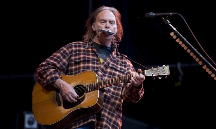 Neil Young … No friend of Donald Trump