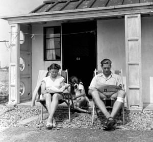 The Ditchburn family relax at their chalet