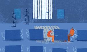 Illustration by Rachel Gannon for the Guardian.