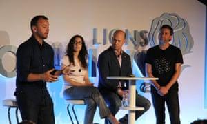 The Apophis2029 team on stage