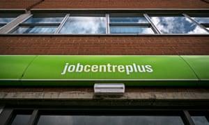 A Jobcentre Plus office.