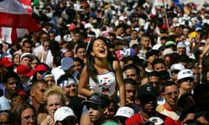The Calle Ocho festival is a representation of Miami's traditional Latin culture.