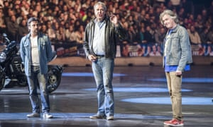 Clarkson, Hammond and May on tour.