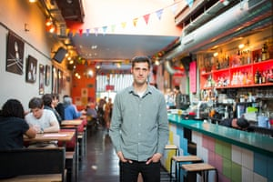 Dan Beaumont, owner of Dalston Superstore