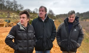 The three former Top Gear presenters.