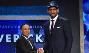 Satnam Singh is drafted by Dallas.