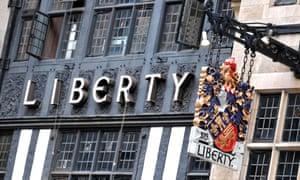 Liberty shop front.