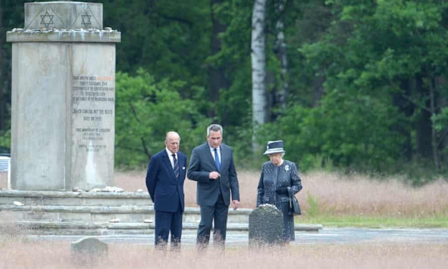 Today, 'a quieter moment, one all but lost in the calamity and grief of this bloody Friday. The Queen visited Bergen-Belsen, a Nazi concentration camp where unspeakable brutality reigned.'