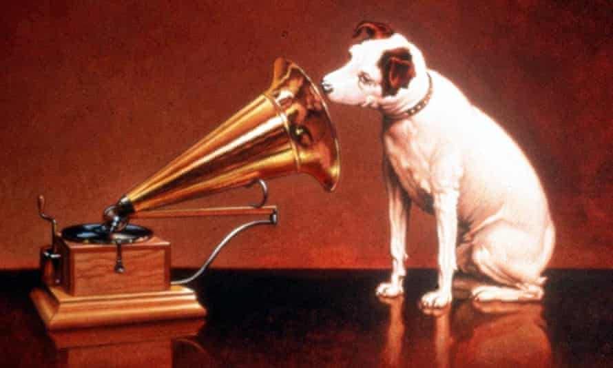 The image that became emblematic of the EMI music chain in its heyday.