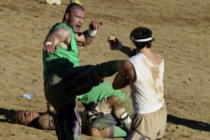 In 2007, city officials handed out a one-year ban to the Calcio Storico after a brawl that saw 50 players taken to court.