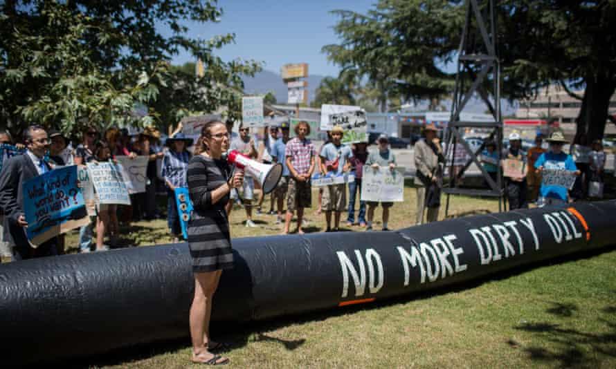 Santa Barbara oil spill protest
