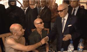 Beji Caid Essebsi in Sousse