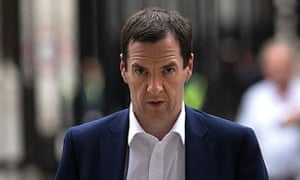 The chancellor, George Osborne, who vaunted plans for a 'northern powerhouse'.