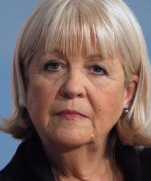 former Welsh secretary Cheryl Gillan