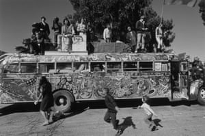 Writer Ken Kesey and the Merry Pranksters