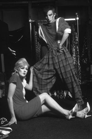Teenagers at the Blitz nightclub, London, 1979