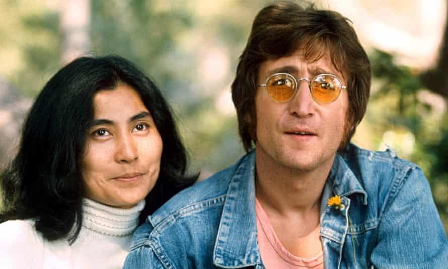 John Lennon and Yoko Ono in 1971