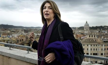 Naomi Klein visit Rome
