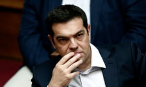 Greek prime minister Alexis Tsipras – Greece may be forced out of the single currency if it doesn't pay €1.54bn to the IMF by Tuesday.