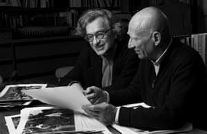 Salt of the Earth: Wim Wenders with Sebastiao Salgado.