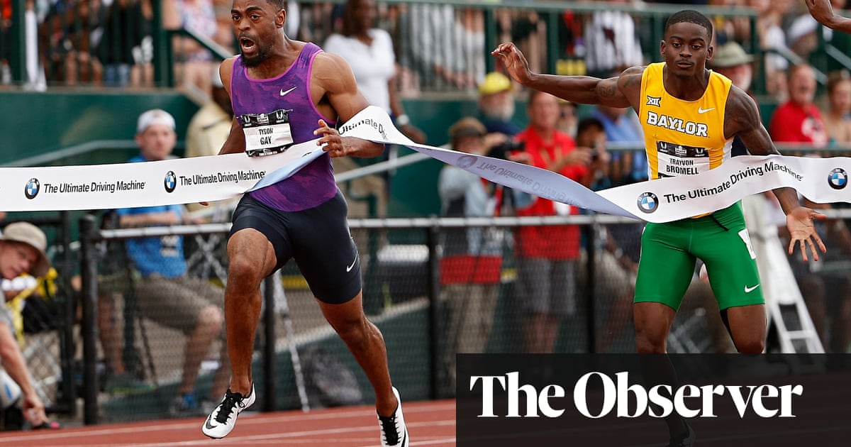 Trayvon Bromell makes sprinting world take notice at US trials ...
