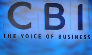 The CBI published its survey just over a week before the chancellor George Osborne's budget on 8 July.