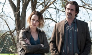 Rachel McAdams (as Ani) and Colin Farrell (Ray) in True Detective