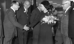 The Queen opens Terminal 1 in 1969.